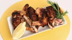 chicken Under a Brick Recipe - Laura in the Kitchen - Internet Cooking Show Starring Laura Vitale