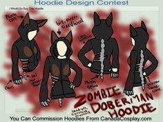 Ok, so it's a Doberman hoodie, but really more MinPin-ish, don't you think?