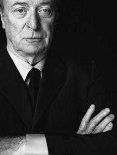 Michael Caine by Nigel Parry