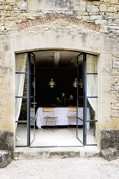 French Dining, Terrace, metal