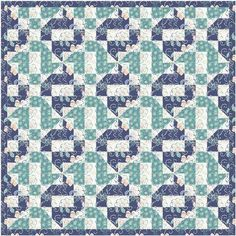 Crazy house quilt pattern and tutorial from Ludlow Quilt and Sew