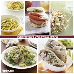 Leftover Turkey Recipes #thanksgiving #holiday #turkey #leftovers