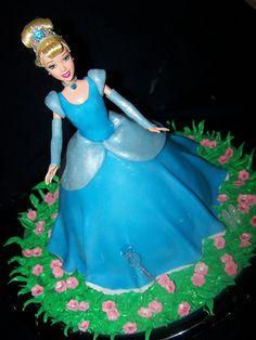 doll cake idea