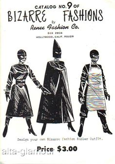 BIZARRE FASHIONS by Renee Fashion Co. Catalog No. 9