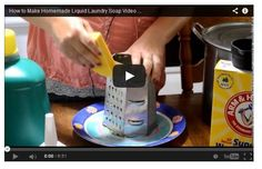 #DIY How to Make Homemade Liquid Laundry Soap Video Tutorial (Do all your laundry for $10 a year!)