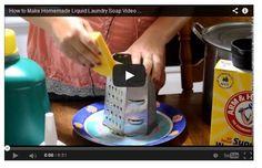 laundri soap, soap video