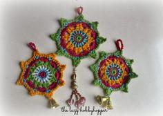 El Hobbyhopper Lazy: Crochet Ornamento - Patrón Gratuito