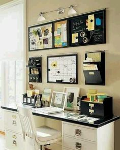 ORGANIZED MOM DESK Great desk for planning appointments, meals and full family schedules.