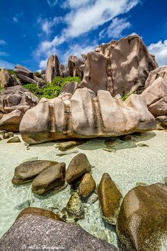 Anse Marron, La Digue Islands, Seychelles