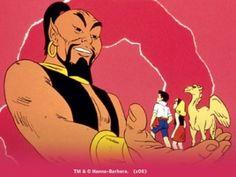 Hanna Barbera cartoons:  Shazzan