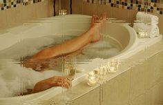 wine, skin cream, bathtub, drink, bubbles, candl, bathroom, bubble baths, bath time