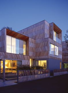 Herringbone House / Alison Brooks Architects  pinned by www.btl-direct.com the free buytolet mortgage search engine for UK BTL  HMO mortgage quotes online   #architecture #residence #house #btl #buytolet