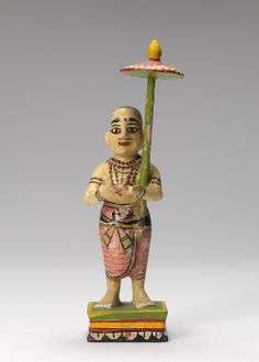 Carved Indian Figurine belonging to Charles Prendergast at Williams College Museum of Art.