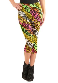 Jump Up Leggings   Mod Retro Vintage Pants   ModCloth.com  These seem great for my Zumba workout...sooo tacky!!! sooo 80´s!