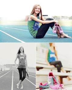 senior girl photo picture posing ideas #photography #track