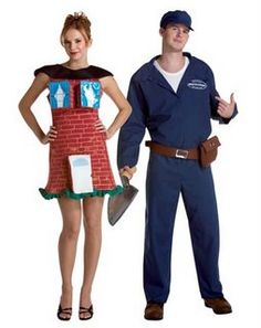 Heteronormative Halloween Costumes for Couples (click thru for analysis)