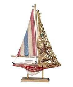Loving this Starfish Sailboat on #zulily! #zulilyfinds