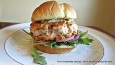 Salmon Burgers & Pickled Onions (with images, tweets) · TheKitchenista