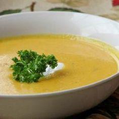 Butternut Squash Soup Allrecipes.com