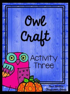 Tuesday Teacher Tips: Can't Celebrate Halloween At School? Throw an Owl Party Instead!