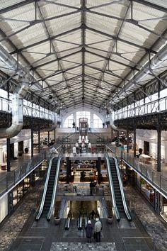Pavilon: un antiguo mercado de Praga renace en un centro comercial dedicado al diseño. | diariodesign.com