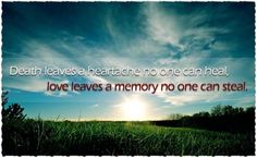 inspirational death sayings | Inspirational Quotes About Death Of A Loved One | Love Quote Image