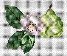 Pear Flower, from DMC Club.
