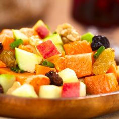 This sweet potato salad recipe is made with apples, raisins and delicious seasoning.. Sweet Potato Salad Recipe from Grandmothers Kitchen.