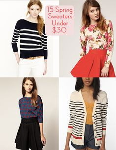 15 spring sweaters under $30