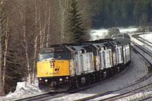 Canadian Winter Train. Visit our website to order the Lots & Lots of Trains DVDs!