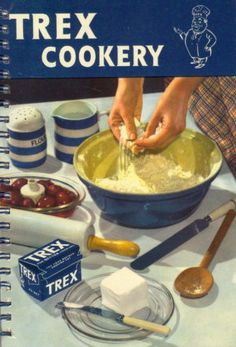 Cornishware Illustration For Trex Cookery - (1953)