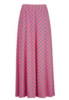Chevron stripe maxi skirt (original price, $34) available at #Maurices