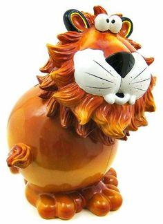 Lion Piggy Bank