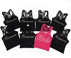 bridesmaid tank, bridesmaid lace, bridesmaids, bride maids, shirts, 12 bridesmaid, tank shirt, bridesmaid shirt, bride tank