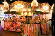 The carousel at the @Prabal Gurung x @Target party