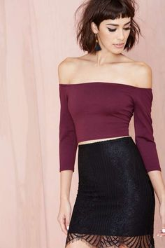 Nasty Gal Courtney Crop Top | Shop Tops at Nasty Gal