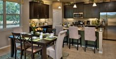 open kitchen living dining | dining room is open to the kitchen