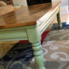 DIY Coffee Table {re-do}, I really want to do something like this!!!