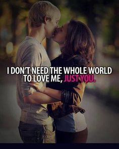 Cute couples quote .!!