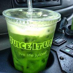 Detoxifier Raw Juice from Juice It Up! #juiceitup #rawjuice #juicebar #addiction #greenjuice