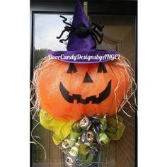 Witchy Jack-O-Lantern