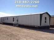 Texas San ANotnio- Repo singlewide-trailers/used-singlewide-mobile-home-16x76-3-bedroom-2-bath