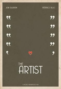 Minimalist Movie Poster: The Artist