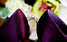 Wedding Photography Poses Picture of Engagement Ring