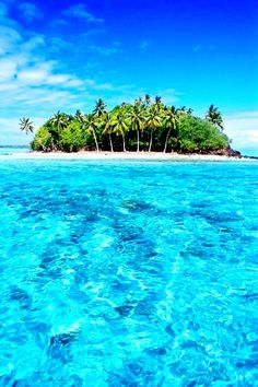 Tahiti Clear Blue Waters