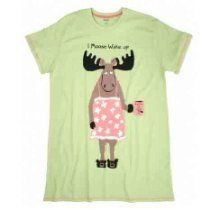Hatley Women I Moose Wake Up Sleepshirt