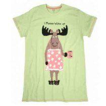 Hatley Women I Moose Wake Up Sleepshirt