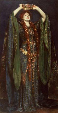 Ellen Terry en Lady Macbeth , par John Singer Sargent (1889)