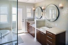 buy a house, plan 45115, tile, wall sconces, master bathrooms, sink, master baths, modern houses, house plans