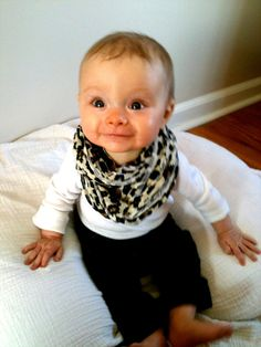 Baby infinity scarf?!